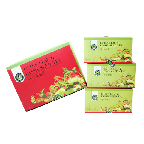 Lotus Leaf and Cassia Seed Tea (Large - 60 sachets)