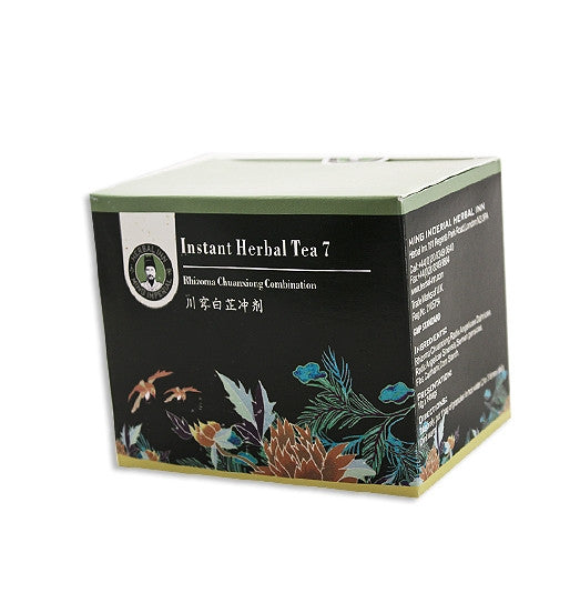 Instant Herbal Tea 7 - Rhizoma Chuanxiong Combination