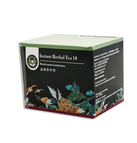 Instant Herbal Tea 10 - Herba Leonuri Combination
