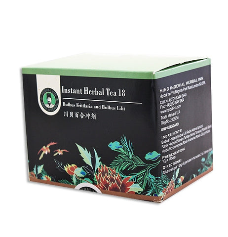 Instant Herbal Tea 18 - Bulbus Fritillariae and Bulbus Lilii