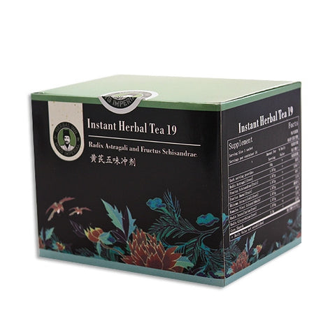 Instant Herbal Tea 19 - Radix Astragali and Fructus Schisandrae