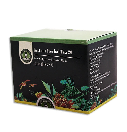 Instant Herbal Tea 20 - Fructus Lycii and Fructus Rubi