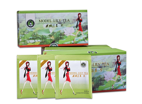 Model Lily Tea gold lable