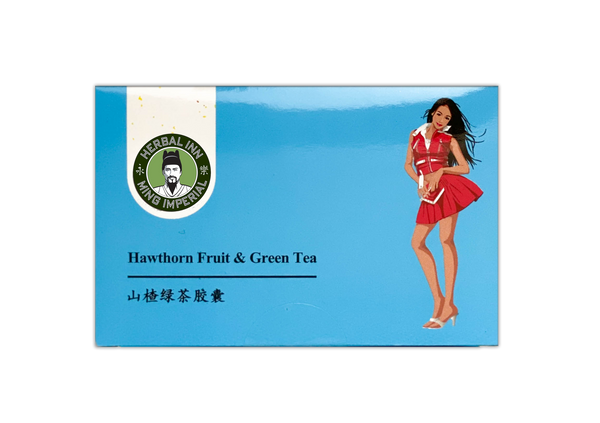 Slim-Easy Capsules: Hawthorn Fruit and Green Tea (Small Box)