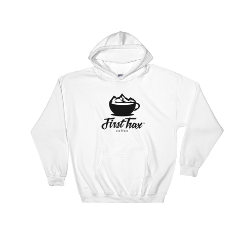First Trax Coffee Hooded Sweatshirt