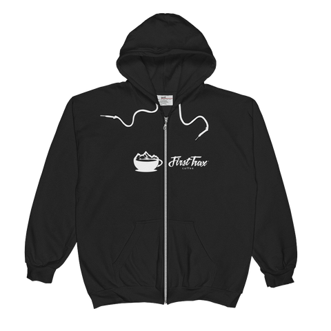 First Trax Coffee Full Zip Hoodie