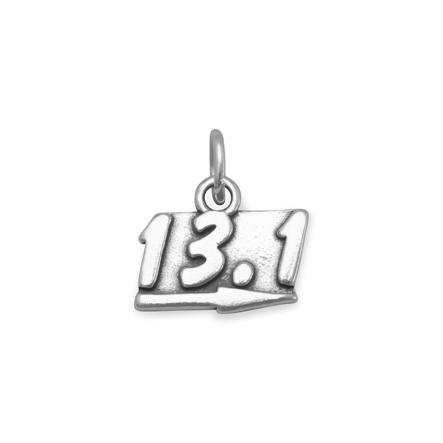 Sterling silver 13.1 Running charm