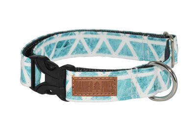Banded Pines Dog Collar