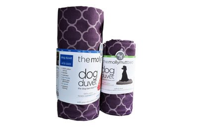 Dog Bed Covers_Molly Mutt_Purple
