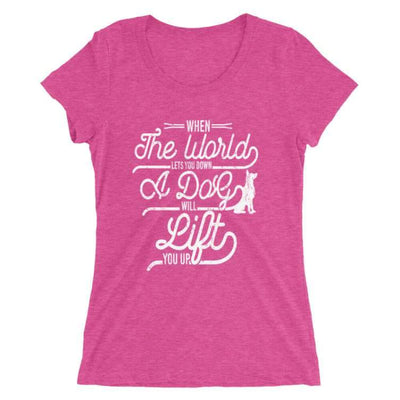 Dog Lover T-shirt_Pink