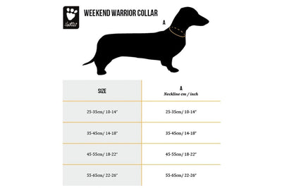 Hurtta Weekend Warrior Collar_Size