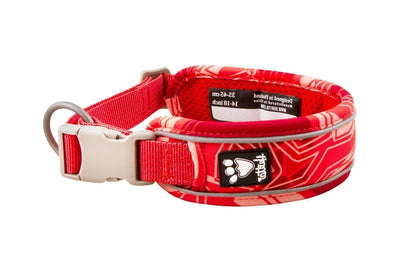 Hurtta Weekend Warrior Dog Collar_Coral Camo_