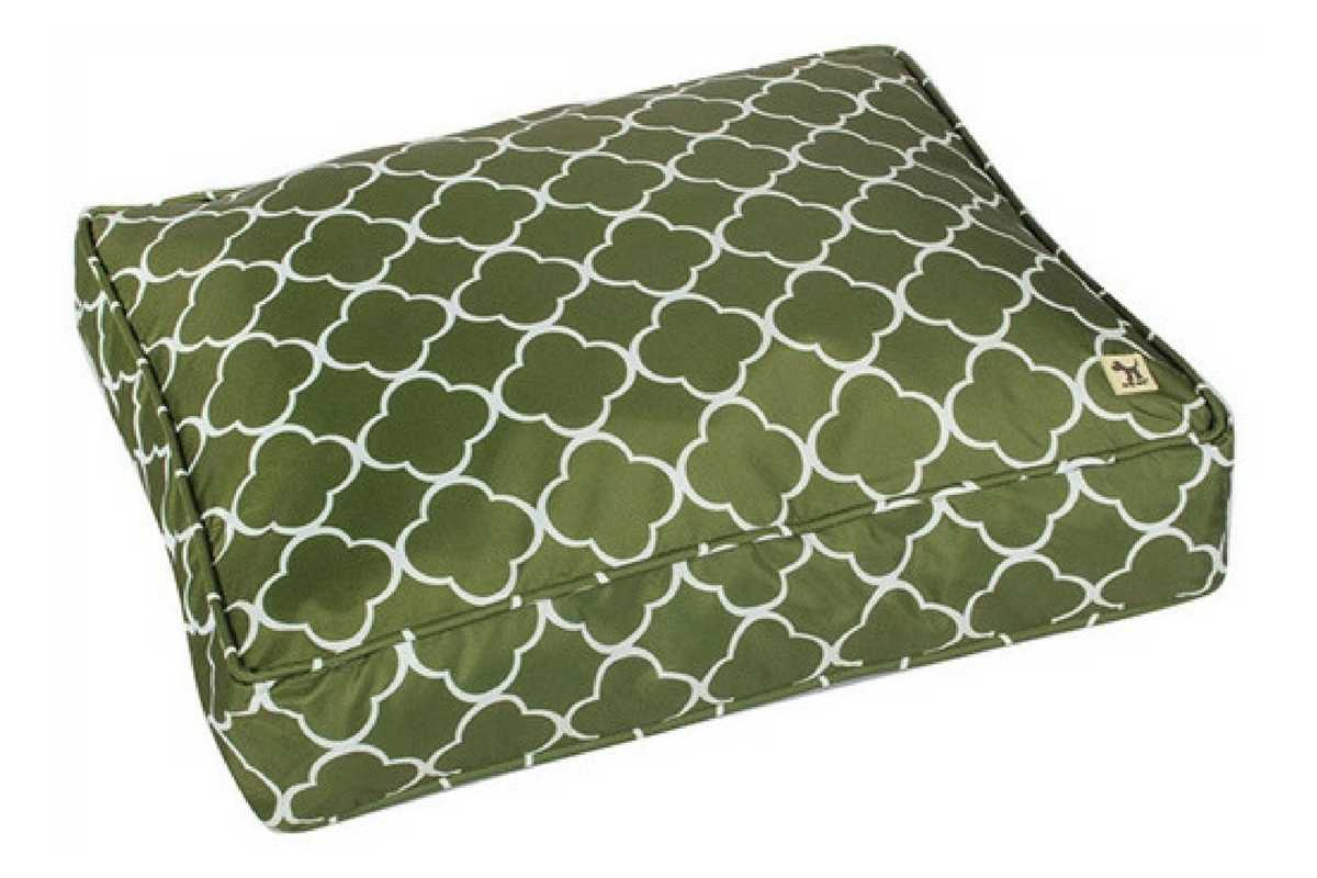 Outdoor Dog Bed Duvet_Molly Mutt_Green