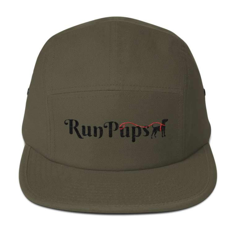 RunPups 5 Panel Hat