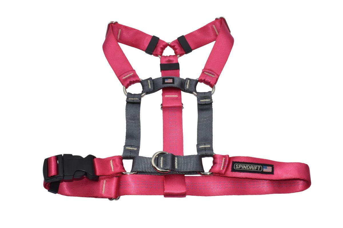 Spindrift No Pull Dog Harness_Pink