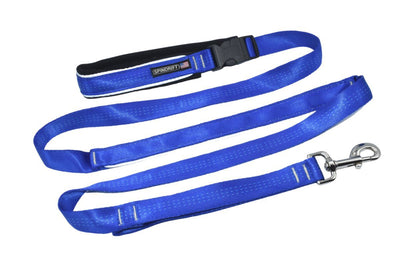 Spindrift Safety Dog Lead_Running Leash_Blue_6ft