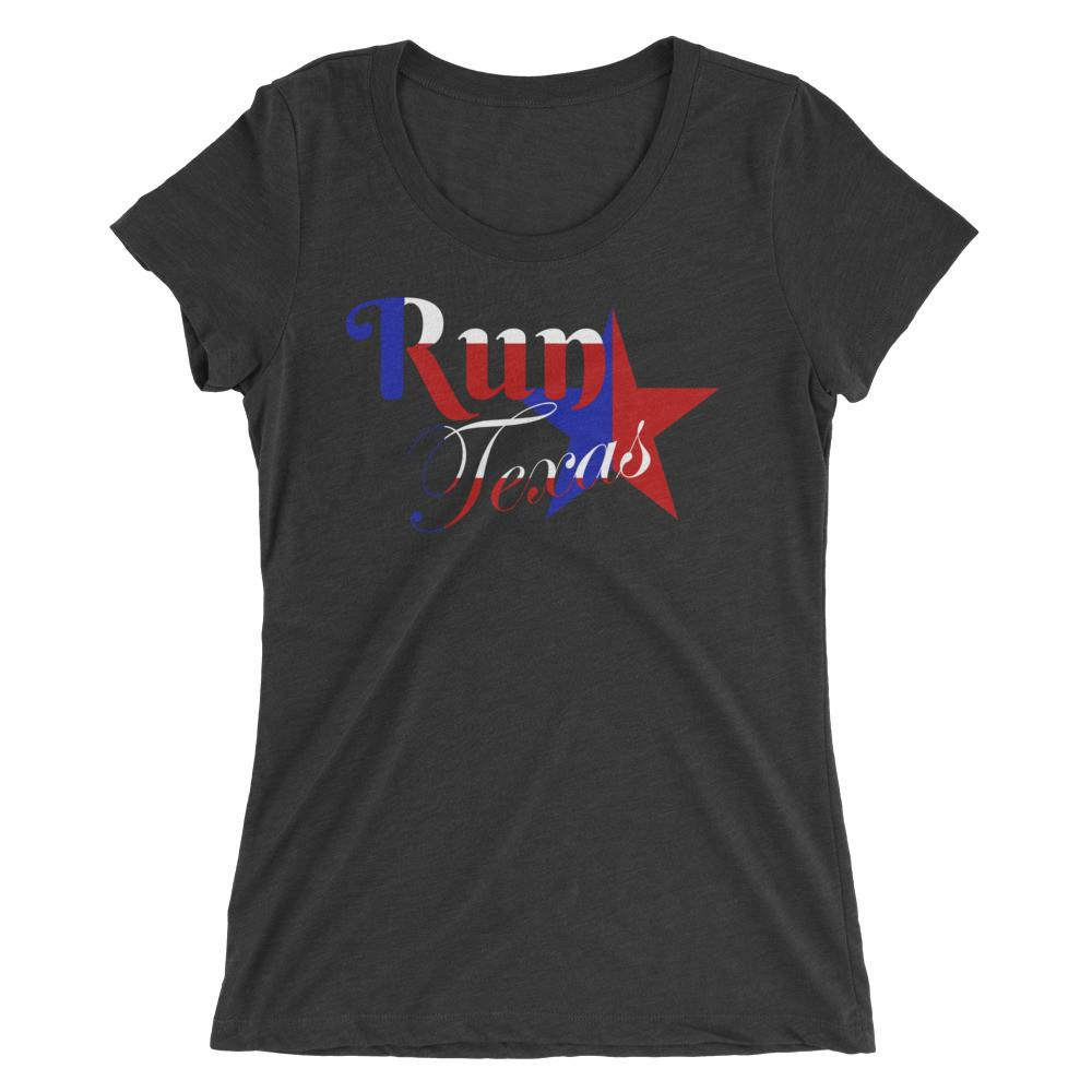 Run Texas Ladies T-shirt