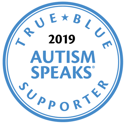 Autism Speaks True Blue logo