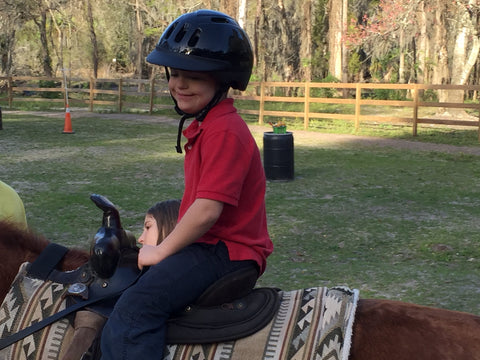 Caleb - Horse Back Riding Down Syndrome Therapy