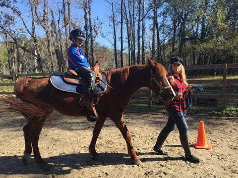 Equestrian therapy is particularly applied to patients with ADD, anxiety, autism, dementia, delay in mental development, down syndrome and other genetic syndromes, depression, trauma and brain injuries, behavior and abuse issues and other mental health issues