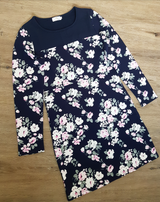 Chico Navy Floral Dress