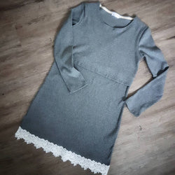 Chico Lace Trim Jumper Dress