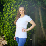The Scallop Edge Breastfeeding T Shirts - Chico Jack's - Nursing Tops