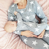 Nursing Loungewear / Nursing Pajamas / Nursing Nightwear - #normalisebreastfeeding