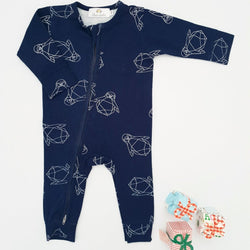 Limited Edition - Christmas Twinning Loungewear - Baby Sleepsuit - Chico Jack's