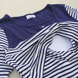 Chico Stripe - Super Soft, Striped Nursing Dress