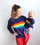 NEW Twinning Sets - Rainbow Sweatshirt - Baby/Child