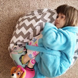 Lillys Love Review - Chevron BeanBag Storage Bag