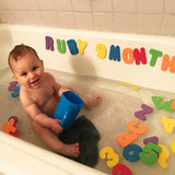 Lillys Love Review - Foam Letters and Bath Toy Organizer