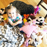 Lillys Love Review - Chevron Bean Bag Stuffed Animal Storage