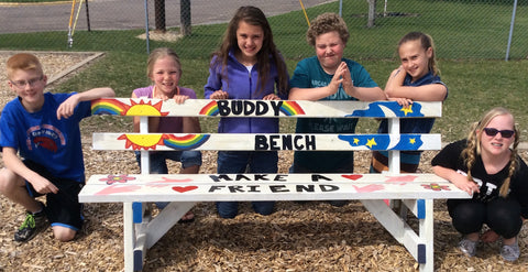 Buddy Bench - Lilly's Love