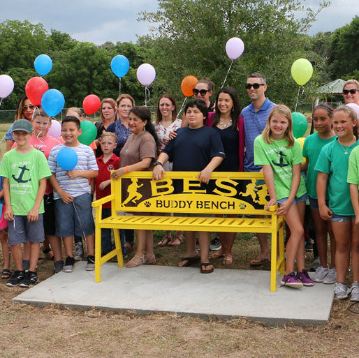 We support the Buddy Bench