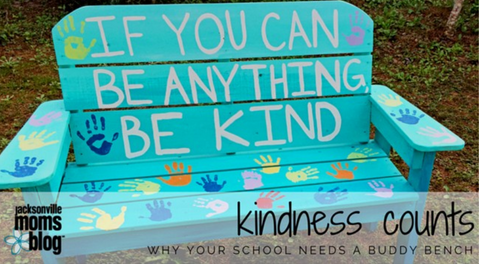 Lilly's Love Buddy Bench - Choosing Kindness