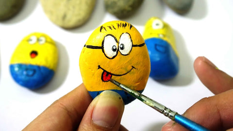 Lilly's Love Painted Rocks Minions
