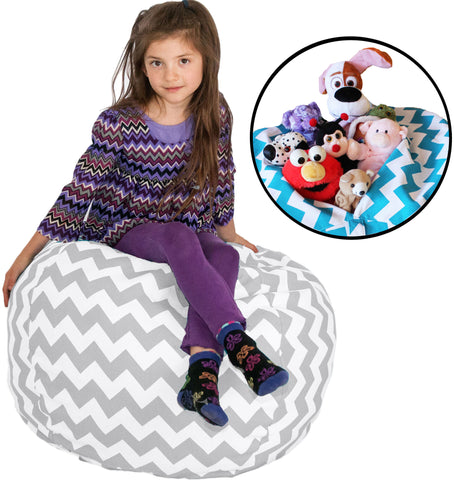 toy storage bag bean bag chair - LIlly's Love