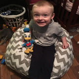 Lillys Love Review - Stuffed Animal BeanBag Storage Chair