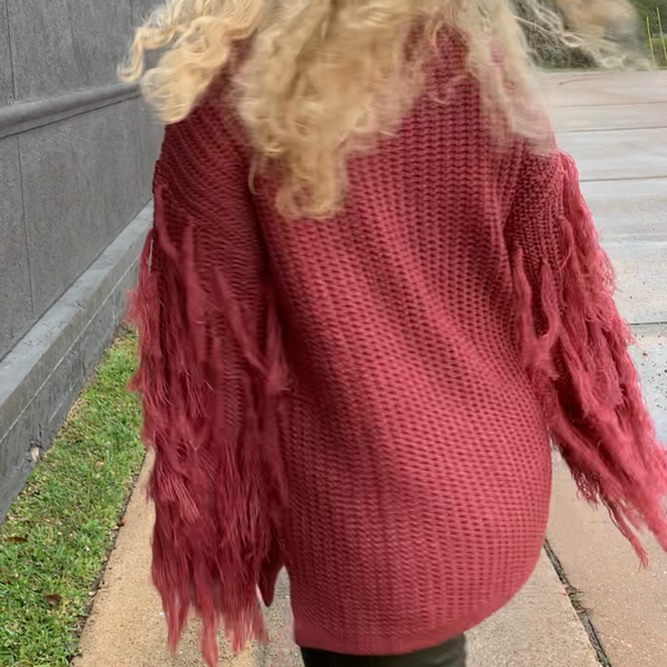 Jodifl Sweater with Fringe