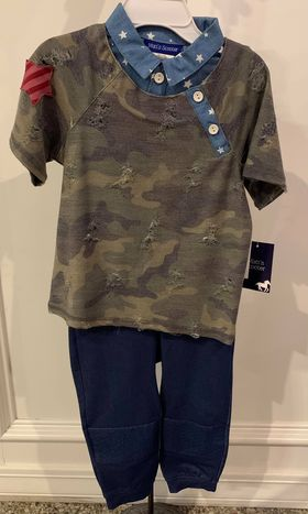 Matt Scooter Camo 2PC