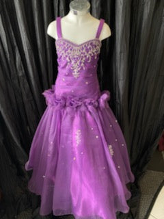 Tiffany Purple Pageant Dress