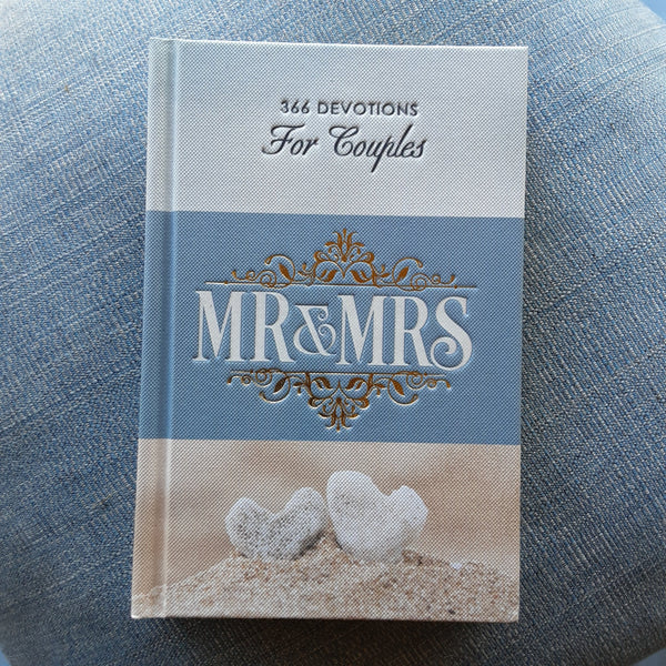 Mr. & Mrs 366 Devotions for Couples Hardcover Edition