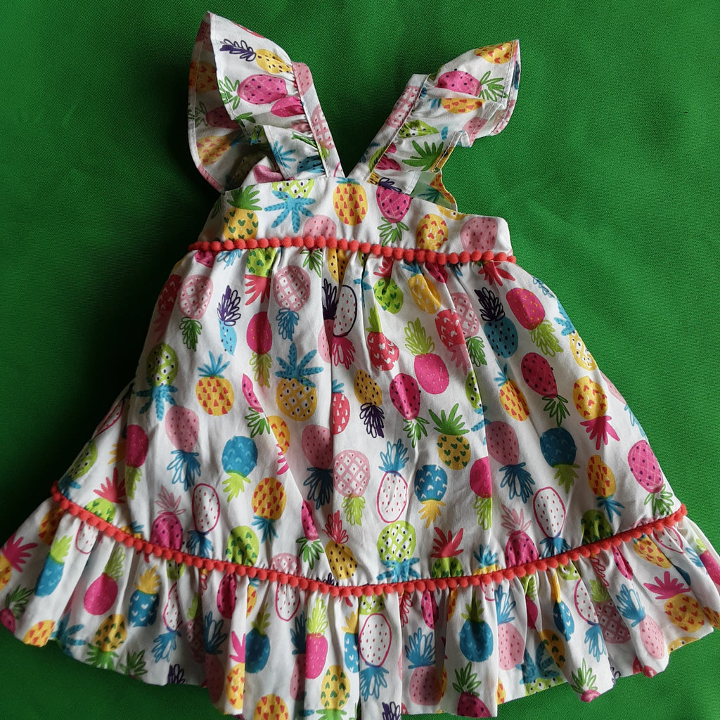 Pineapple Dress and Bloomers