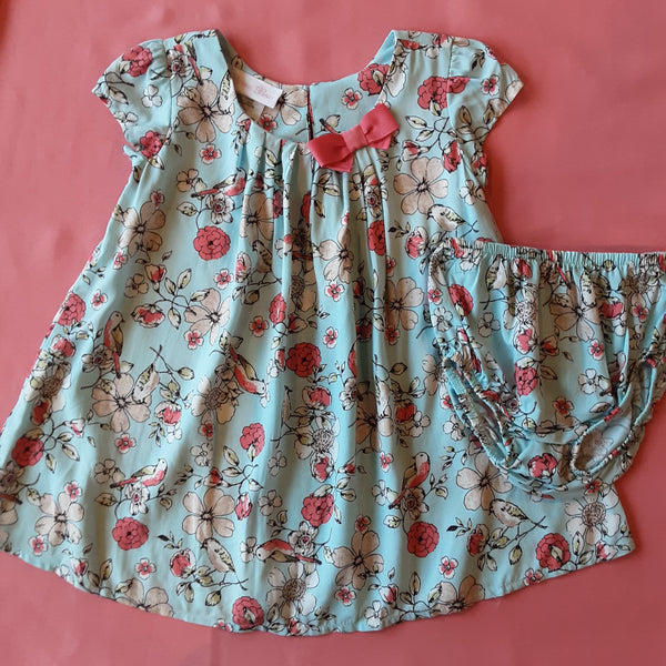 Floral Dress and Bloomers