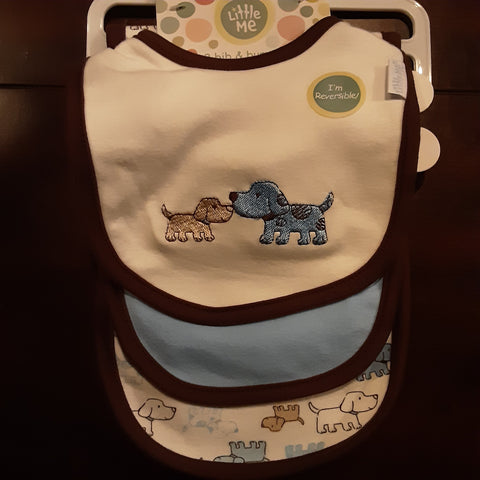 Puppy 3 pack of Bibs