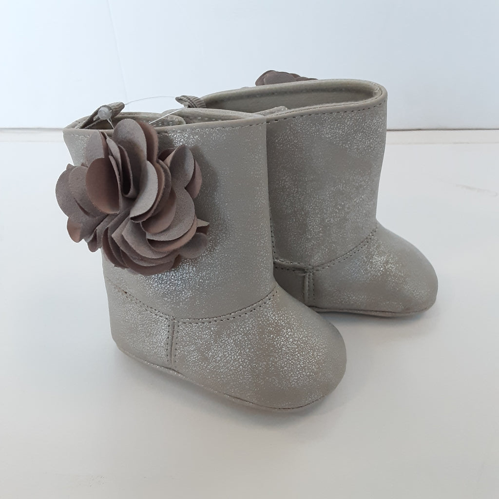 Silver Soft Sole Boots