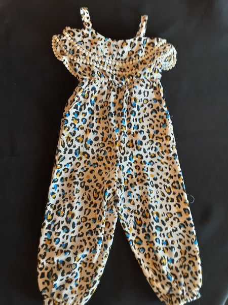 Leopard Long Romper