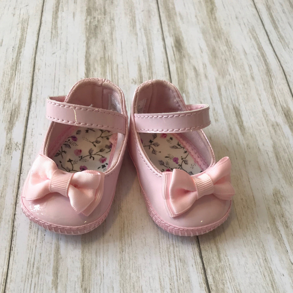Baby Deer Shoe with Bow